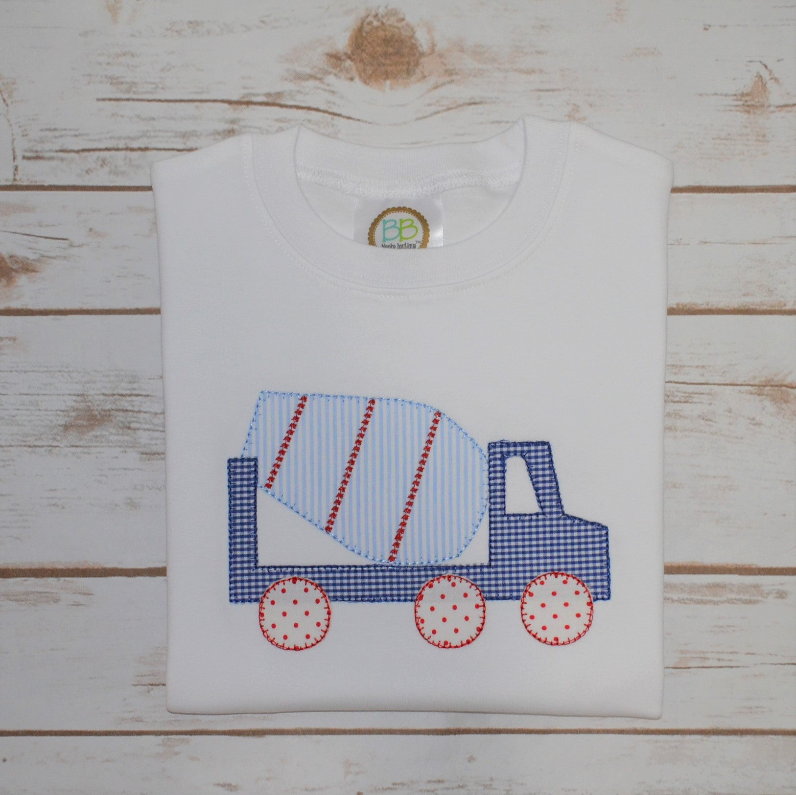 Boy's Cement Mixer Shirt