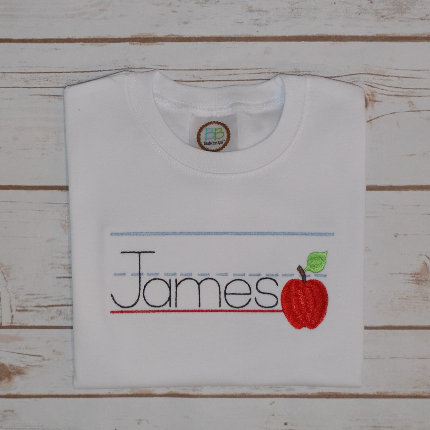 Apple Hand-Writing Tablet Shirt
