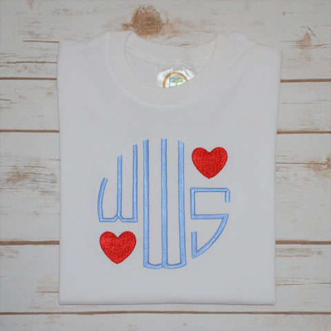 Heart Monogram Shirt