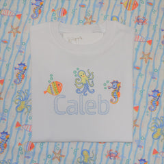 Boy's Sea Creatures Shirt