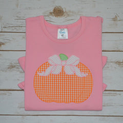 Bow Pumpkin Shirt