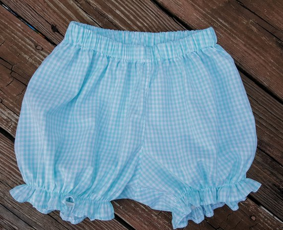 Girl's Elastic Leg Bubble Shorts