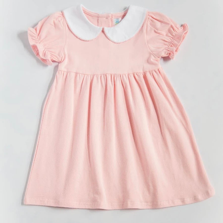 Charlotte Solid Light Pink Dress