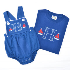 Sailboat Knit Sunsuit