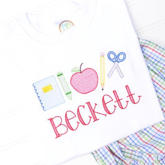 Boys Sketch School Designs Shirt