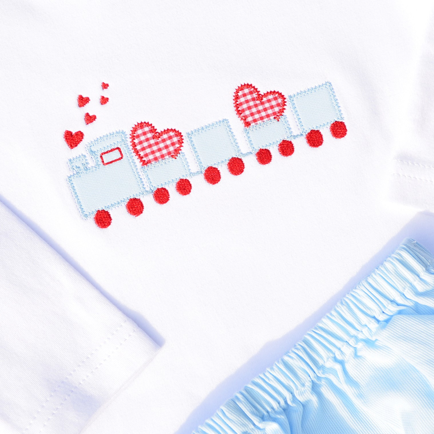 Boys Valentine Train Shirt