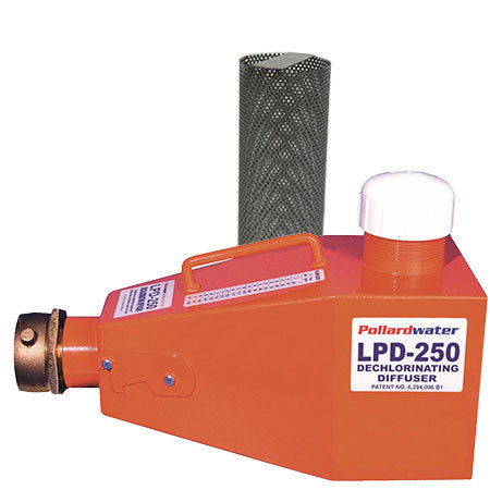 LPD-250 Steel with Vita-D-Chlor Screen