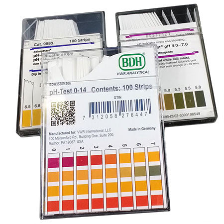colorpHast pH indicator strips