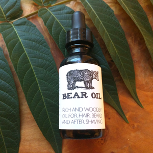 Bear Oil Beard + Face Moisturizer