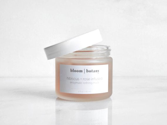 Bloom Botany Hibiscus Rose Brightening Mask