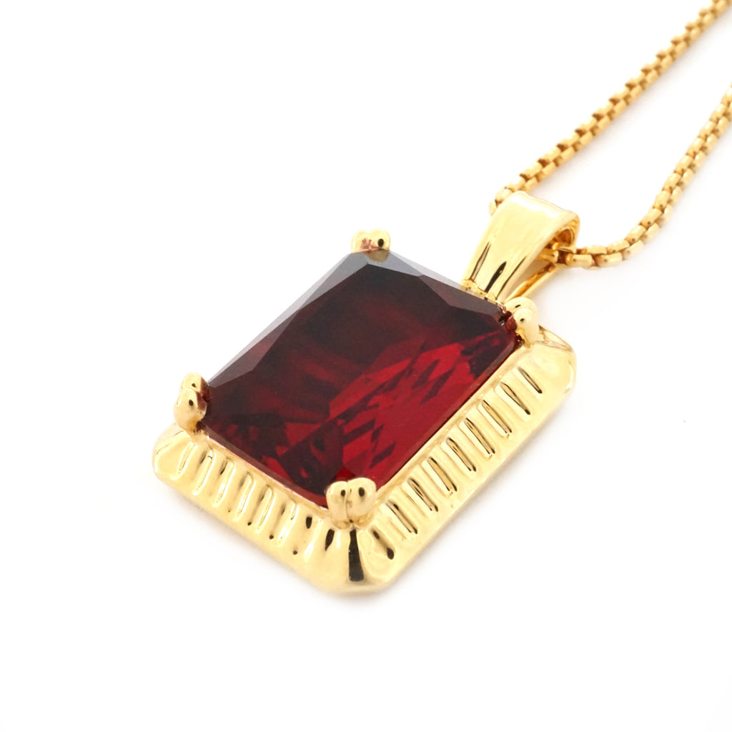 black for lazaro soho jewelry s necklace cross mens on diamond gold ruby men