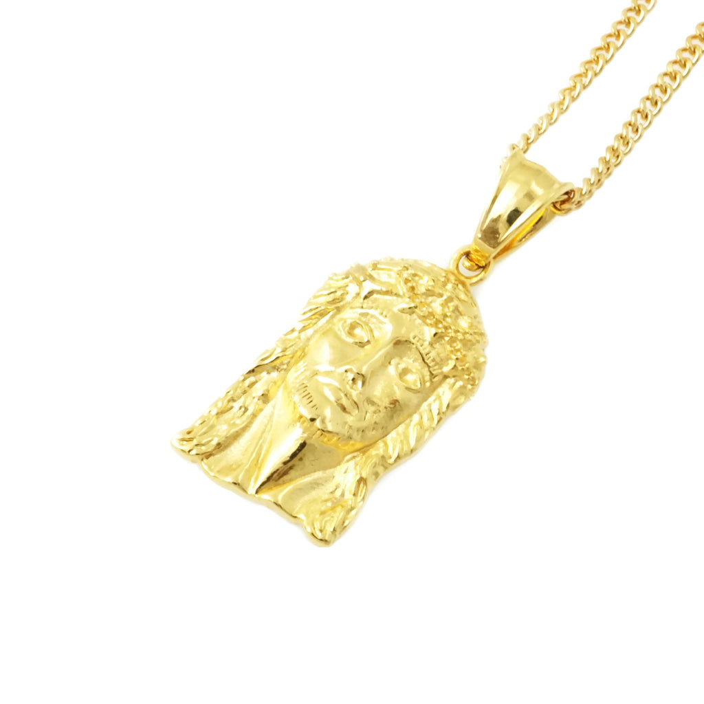 pendants jesus white pendant stencil gold or piece mens yellow