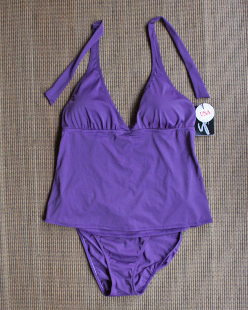 SIA Purple Tankini Set - Made in USA