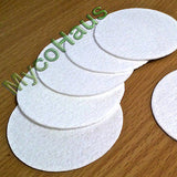 "50 QTY, 90mm ""Wide Mouth"" Synthetic Filter Discs"