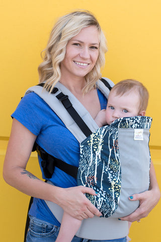 Breastfeeding in your Kinderpack- Shift baby to the side