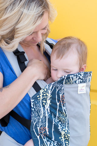 Breastfeeding in a Kinderpack- Latch
