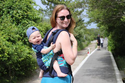 Laura Leigh Abby - The Abbys Babywearing- LGBT Moms Babywearing