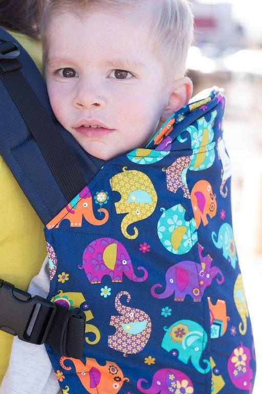 Elephant Romp- Toddler Soft Structured Child Carrier