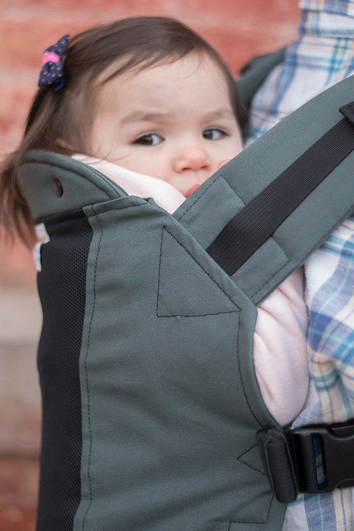 Mineral w/ Koolnit Mesh- Infant Soft Structured Baby Carrier