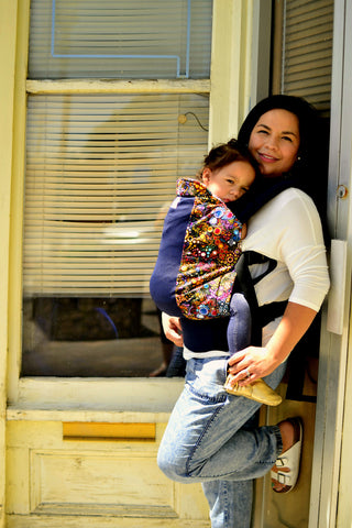 Bubbles w/ Koolnit Standard Baby Carrier