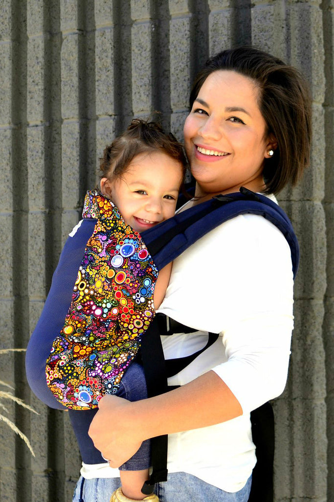 Bubbles w/ Koolnit- Standard Soft Structured Baby Carrier