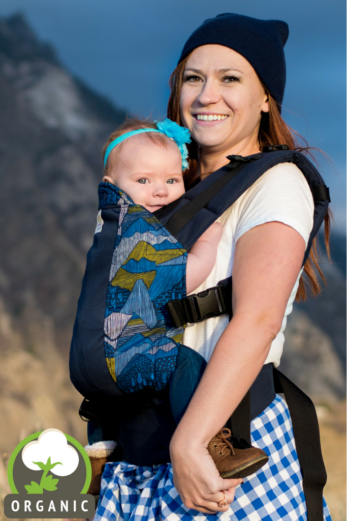 Utah w/ Koolnit- Toddler Soft Structured Child Carrier