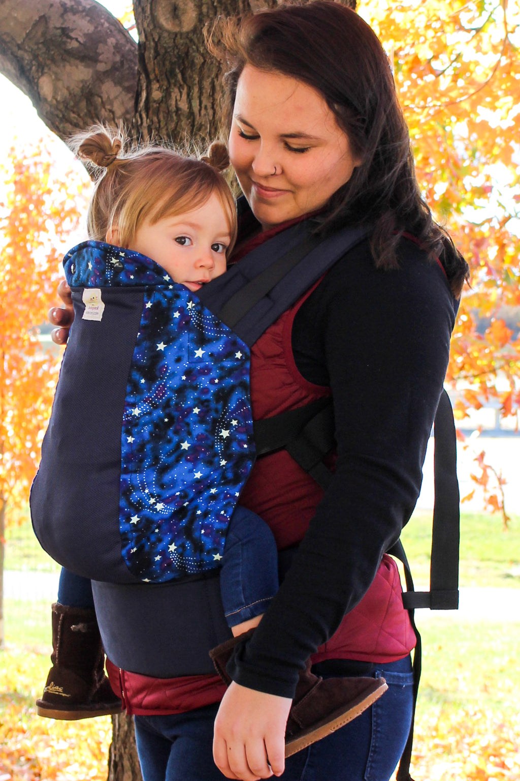 Starstruck w/ Koolnit-  Infant Soft Structured Baby Carrier