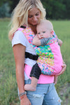 Flower Fields w/ Koolnit Mesh- Standard Soft Structured Baby Carrier