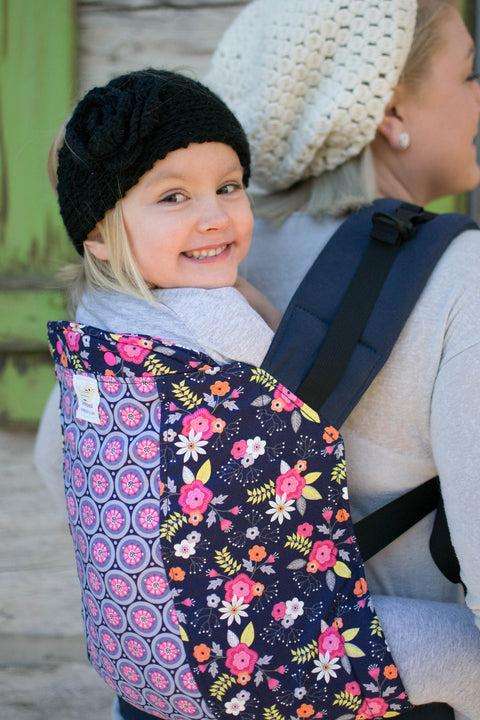 Posy Pinwheel Duo- Standard Soft Structured Baby Carrier