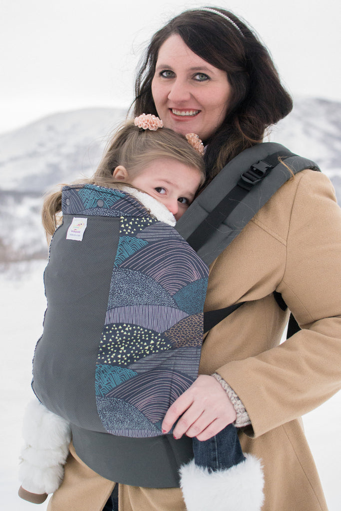 Summit w/ Koolnit- Preschool Soft Structured Child Carrier