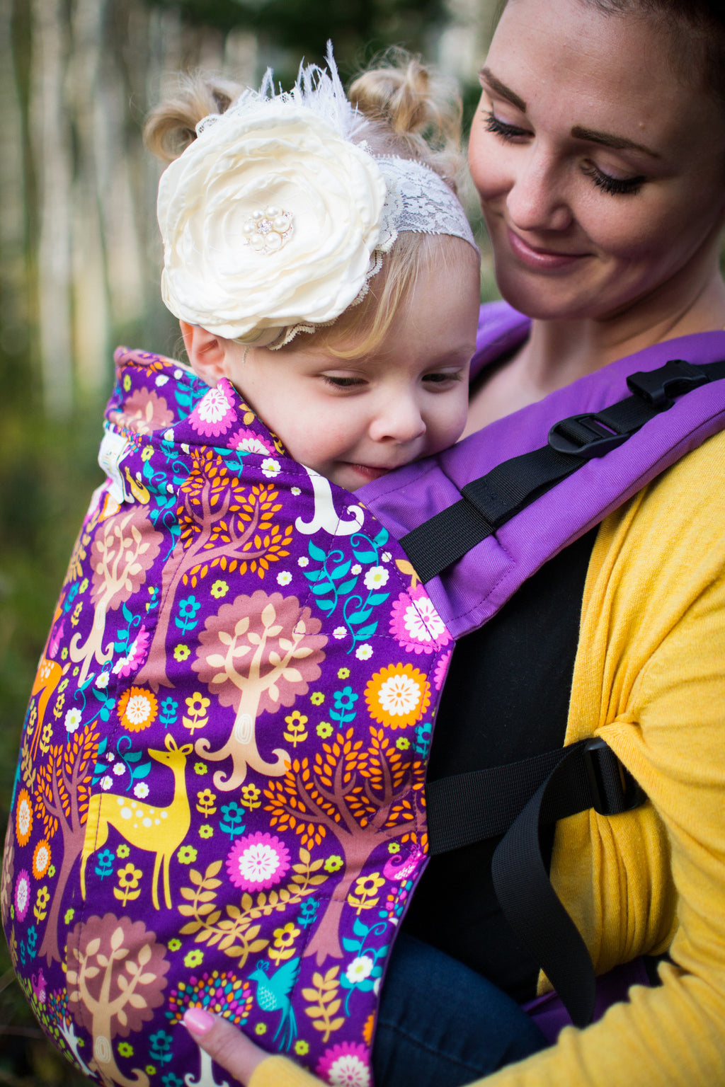 Fantasy Forest- Infant Soft Structured Baby Carrier