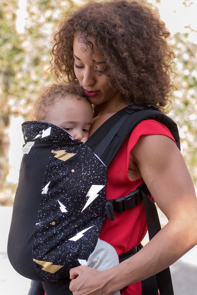Wiz Kid w/ Koolnit- Standard Soft Structured Baby Carrier