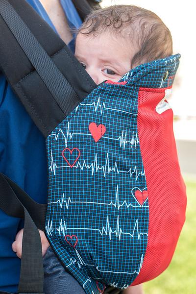 Heartbeat w/ Koolnit - Soft Structured Standard Baby Carrier