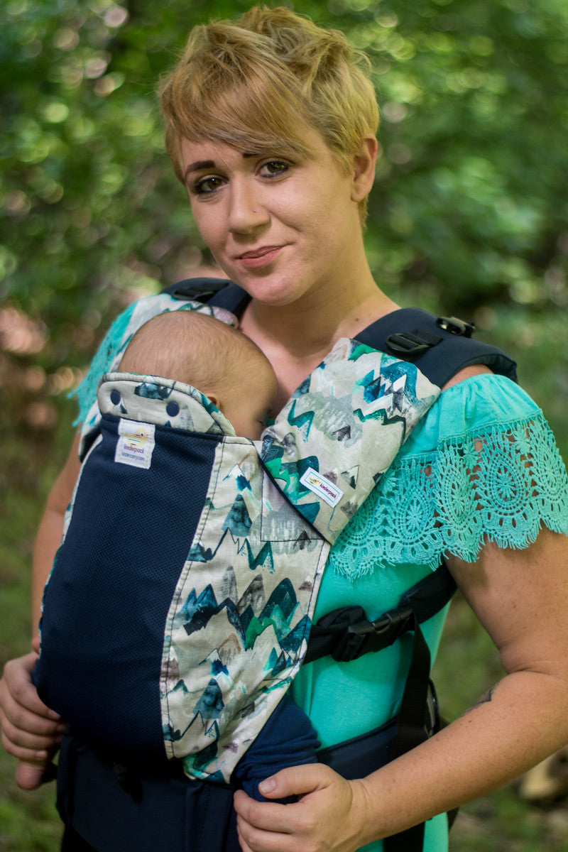 High Sierra w/ Koolnit Mesh -Infant Soft Structured Baby Carrier