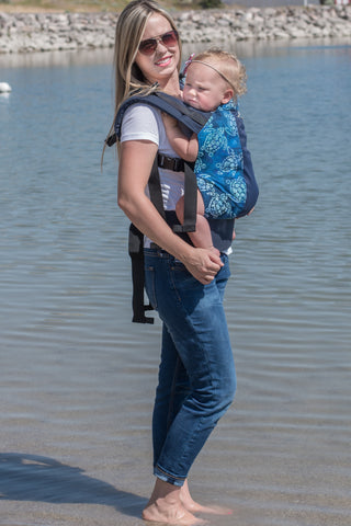 Terrapin w/ Koolnit Mesh- Infant Soft Structured Baby Carrier