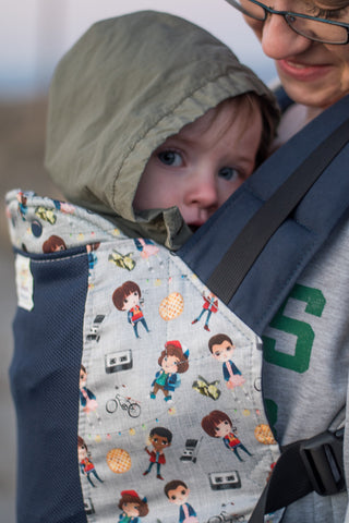 Stranger Friends w/Koolnit Mesh - Ergonomic Baby Carrier