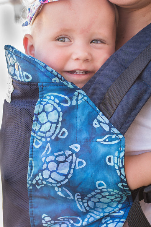 Terrapin w/ Koolnit Mesh- Standard Soft Structured Baby Carrier