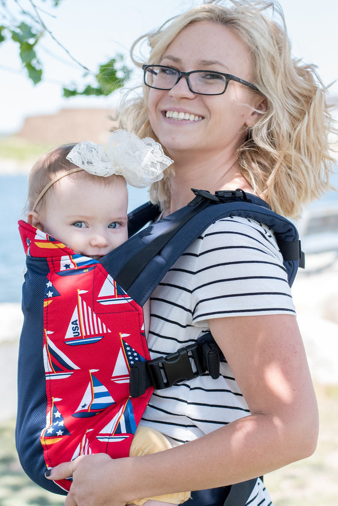 Regatta with Navy Koolnit- Toddler Kinderpack