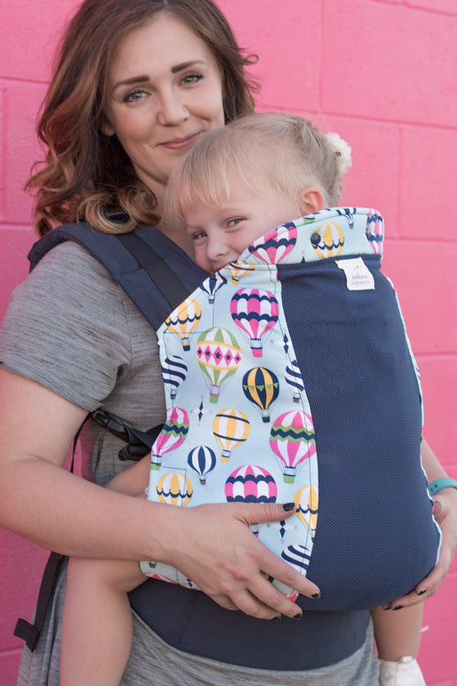 Sky High w/ Koolnit - Standard Soft Structured Baby Carrier