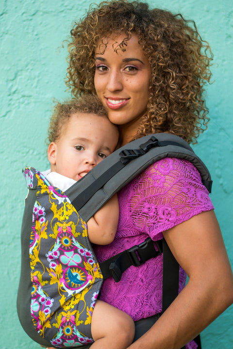 Birds & Bees w/  Koolnit- Standard Soft Structured Baby Carrier