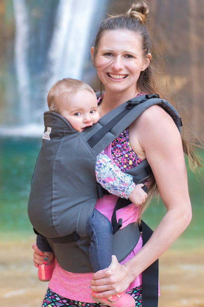Graphite- Standard Soft Structured Baby Carrier