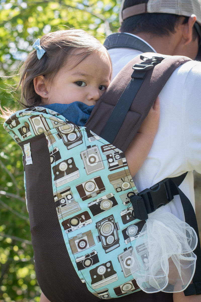 In Focus w/ Koonit Mesh - Standard Soft Structured Baby Carrier