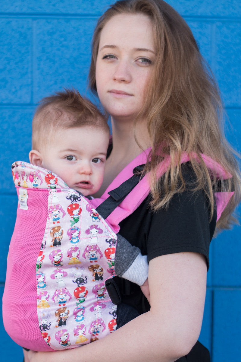 Unicosplay w/ Koolnit Mesh - Preschool Soft Structured Child Carrier