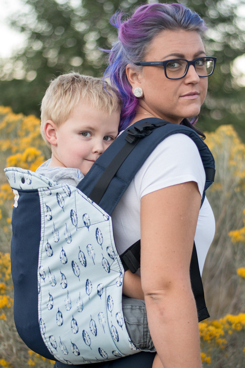 Azure w/ Koolnit Mesh - Infant Baby Carrier