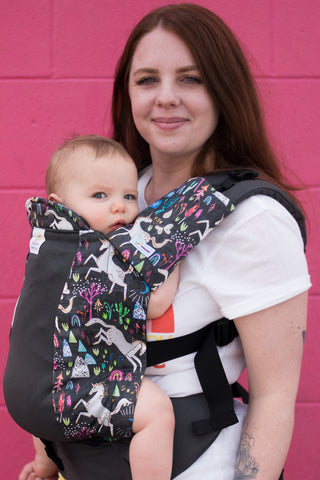 Unicornicopia w/ Koolnit Mesh - Toddler Soft Structured Child Carrier