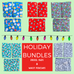 Holiday Drool Pad/Pouch Bundles