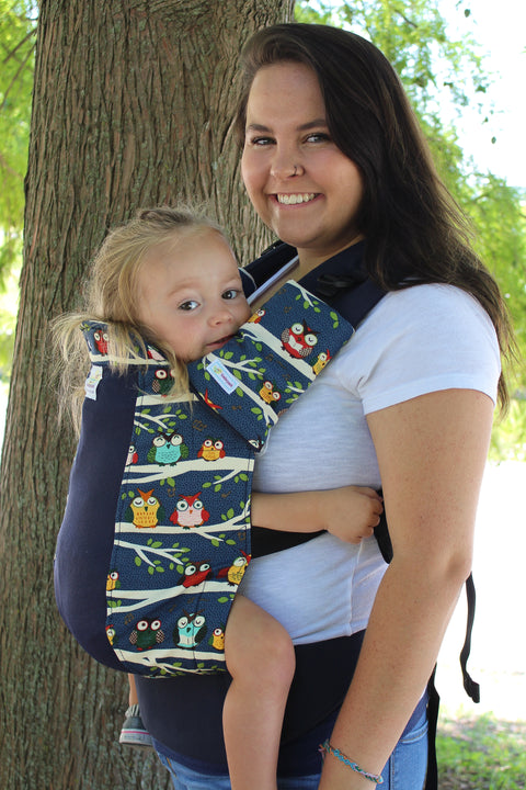 Night Owl w/ Koolnit Mesh - Standard Soft Structured Baby Carrier