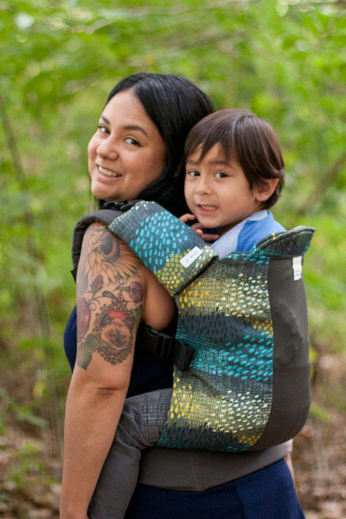 Particle w/ Koolnit Mesh - Infant Soft Structured Baby Carrier
