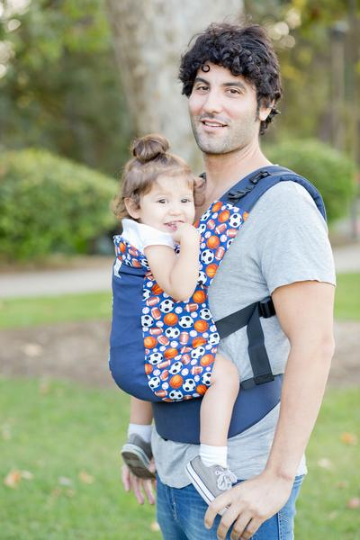 Play Ball w/ Koolnit Mesh- Standard Soft Structured Baby Carrier