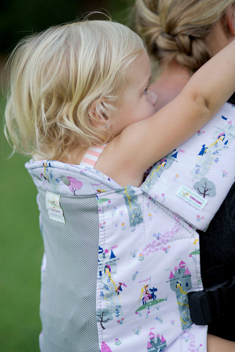 Rapunzel w/ Koolnit - Standard Soft Structured Baby Carrier
